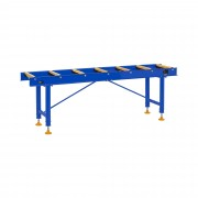 Roller Table - 400 kg - 200 cm - 7 Rollers