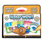 Water Wow! Splash Cards Set: Alphabet; Shapes, Numbers & Colors