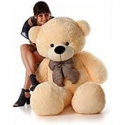3 Feet Stuffed Spongy Huggable Cute Teddy Bear Birthday Gifts Girls - Cream