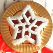 Forma silicon pentru budinca si tort Stea Ornata