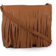 TR Fashion Women Brown PU Sling Bag