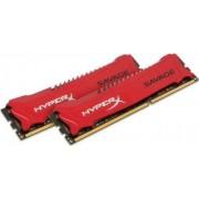 Memorija DIMM DDR3 2x8GB 1866MHz Kingston HyperX Savage CL9, HX318C9SRK2/16