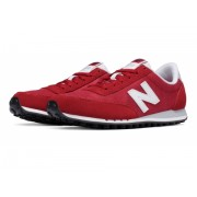 New Balance 410 70s Running Suede Red with White
