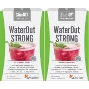 SlimJOY 2 WaterOut Strong - Körper entwässern + Abnehmen. Himbeergetränk. 2x10 Beutel