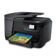 HP OfficeJet Pro 8710, цветен мастилен принтер/скенер/копир/факс, 4800x1200 dpi, 35стр/мин, Wi-Fi, LAN, USB
