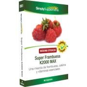 Simply Supplements Super Frambuesa K2000 MAX - 60 Cápsulas