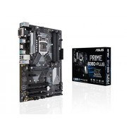 Asus Prime B360-Plus mainboard Socket 1151 (ATX, Intel B360, DDR4 geheugen, duale M.2, Intel optane, 6 GB/S SATA, USB 3.1 Gen 2)