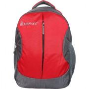 Dussledorf Leonardo 22 Liters Red and Grey Laptop Backpack (LEO-0318)