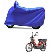 Intenzo Premium Full Blue Two Wheeler Cover for TVS Heavy Duty Super XL