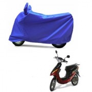 AutoAge Full Blue Two Wheeler Cover For Yo Electron
