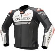 Alpinestars Missile Ignition Motorcycle Leather Jacket Black White 60