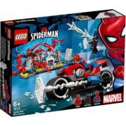 LEGO Marvel Super Heroes Salvarea cu motocicleta a lui Spider-Man No. 76113
