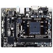 MB Gigabyte GA-F2A68HM-DS2, FM2+, micro ATX, 2x DDR3, AMD A68H, S3 4x, U2 4x, U3 2x, LAN, VGA, DVI-D, 24mj