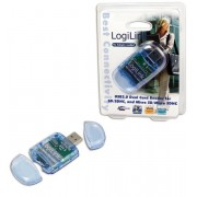 Card reader LogiLink CR0015 (Albastru)