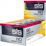 SiS Go Energy Red Berry 40g - Female - Zilver - Grootte: One Size