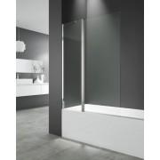 Mampara de bañera Open 2 Hoja fija con segmento abatible