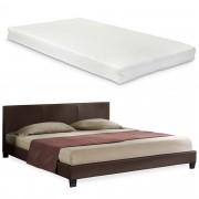 """Corium® Čalouněná postel """"Barcelona"""" s matrací HTB-1056"""