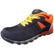 Port Men's Admir Red Mesh Runing Shoes