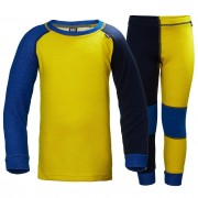 Helly Hansen Kids Hh Lifa Merino Set 86/1 Yellow