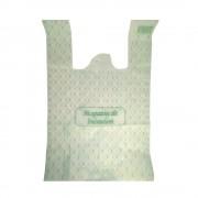 Pungi Biodegradabile Albe, Model Imprimat 27x8x50 cm, 50 Buc/Bax - Sacose Ecologice