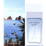 Dolce & Gabbana Light Blue Love in Capri Eau de Toilette para mulheres 50 ml