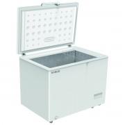 Lada frigorifica Samus LS330A+, 316 L, Control electronic, Termostat reglabil, Functie Fast freeze, Interior aluminiu, L 111.9 cm, Alb