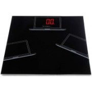 Aliyan Shop Ultra Glass Red LED Magical Display Digital Personal Health Monitor Weighing Scale Weighing Scale(Black)