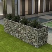 vidaXL Vaso para plantas em aço 360x90x100 cm
