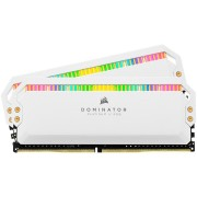 DDR4, KIT 16GB, 2x8GB, 3200MHz, CORSAIR DOMINATOR PLATINUM RGB White Heatspreader, CL16 (CMT16GX4M2Z3200C16W)