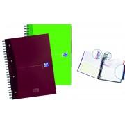 Caiet A4, spirala dubla, 120 file - 90g/mp, coperta carton, OXFORD Essentials Europeanbook-matematic