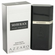 Silver Black For Men By Azzaro Eau De Toilette Spray 1.7 Oz