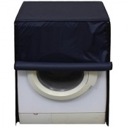Glassiano Navy Blue Waterproof Dustproof Washing Machine Cover For Front Load Haier HW60-1279 6 kg