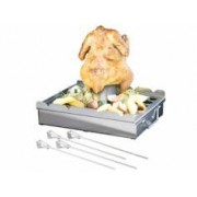 Rosenstein & Söhne Accessoire 5 en 1 pour barbecue avec 4 brochettes