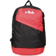 Fila LEO BACKPACK 23 L Backpack(Black, Red)