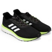 ADIDAS RESPONSE LT M Running Shoes For Men(Black, Green, White)