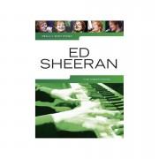 Music Sales Really Easy Piano - Ed Sheeran - 18 Ed Sheeran Songs