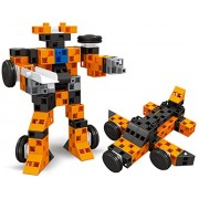 Uniquely Designed Diy Brick Clicks Building Block Set That Comes With 72pcs And Can Build Into Robots Or Anything A Child Desires