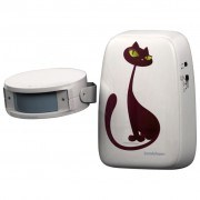 InnovAdvance Cat Doorbell 50 m White 78110121