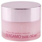 Bergamo «Snail Cream» Крем с муцином улитки, 50 г.