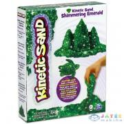 Kinetikus Homok: Csillámló Smaragd Színű - 454 Gramm (Spin Master, 6026420)