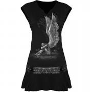 Spiral Women's ENSLAVED ANGEL Stud Waist Mini Dress - Black - XL - Black