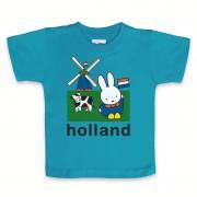 Nijntje baby t-shirt blauw kraamkado