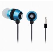 "Casti interne cu microfon - metal, blue, GEMBIRD ""MHS-EP-002"""