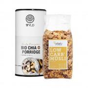 Vitafy Essentials Low Carb Müsli (525g) + WYLD Bio Chia Porridge (450g)