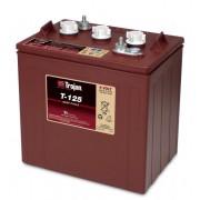 Batería de plomo ácido abierto Trojan T-125 6V 240Ah Ciclo profundo