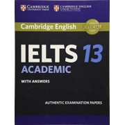 Cambridge Ielts 13 Academic Student's Book with Answers: Authentic Examination Papers, Paperback/***