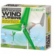 4M Spel Wind Turbine voor kinderen - Groen, Wit