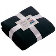 James & Nicholson Fleece deken donkerblauw