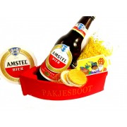 Sinterklaas cadeau bierpakket pakjesboot Amstel