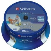 CD-R 700 MB 52X Extra Protection 25 bucati Verbatim